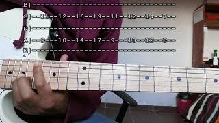 Every Step - Silent Partner - tutorial guitarra.