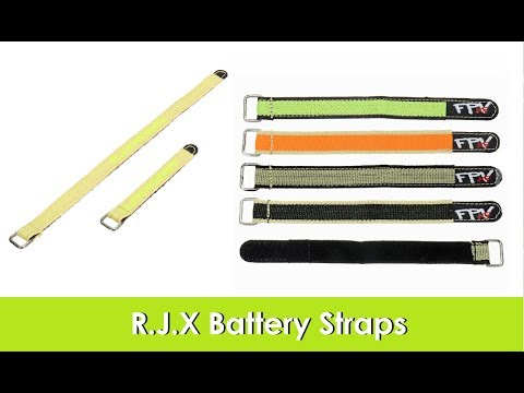 R.J.X Battery Straps from Banggood.com