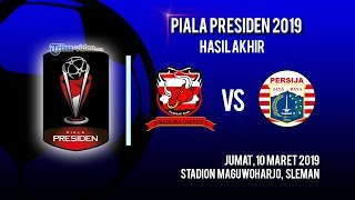 Hasil Akhir Laga Madura United Vs Persija Jakarta, Kedua Tim Masih Sama Kuat