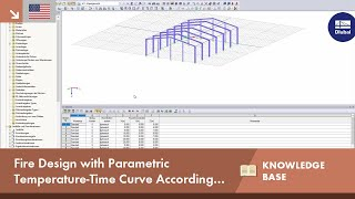 KB 001613 | Fire Design With Parametric Temperature-Time Curve According to DIN EN 1991-1-2