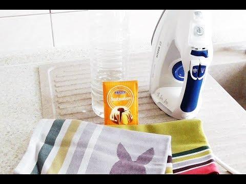 Genialer Trick: Bügeleisen reinigen mit Hausmitteln - Dampfbügeleisen sauber machen Haushaltstipp