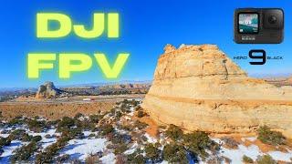 Snow Rock iFlight DJI FPV - GoPro Hero 9 Black - Cinematic Freestyle - 4K - One Pack Rip