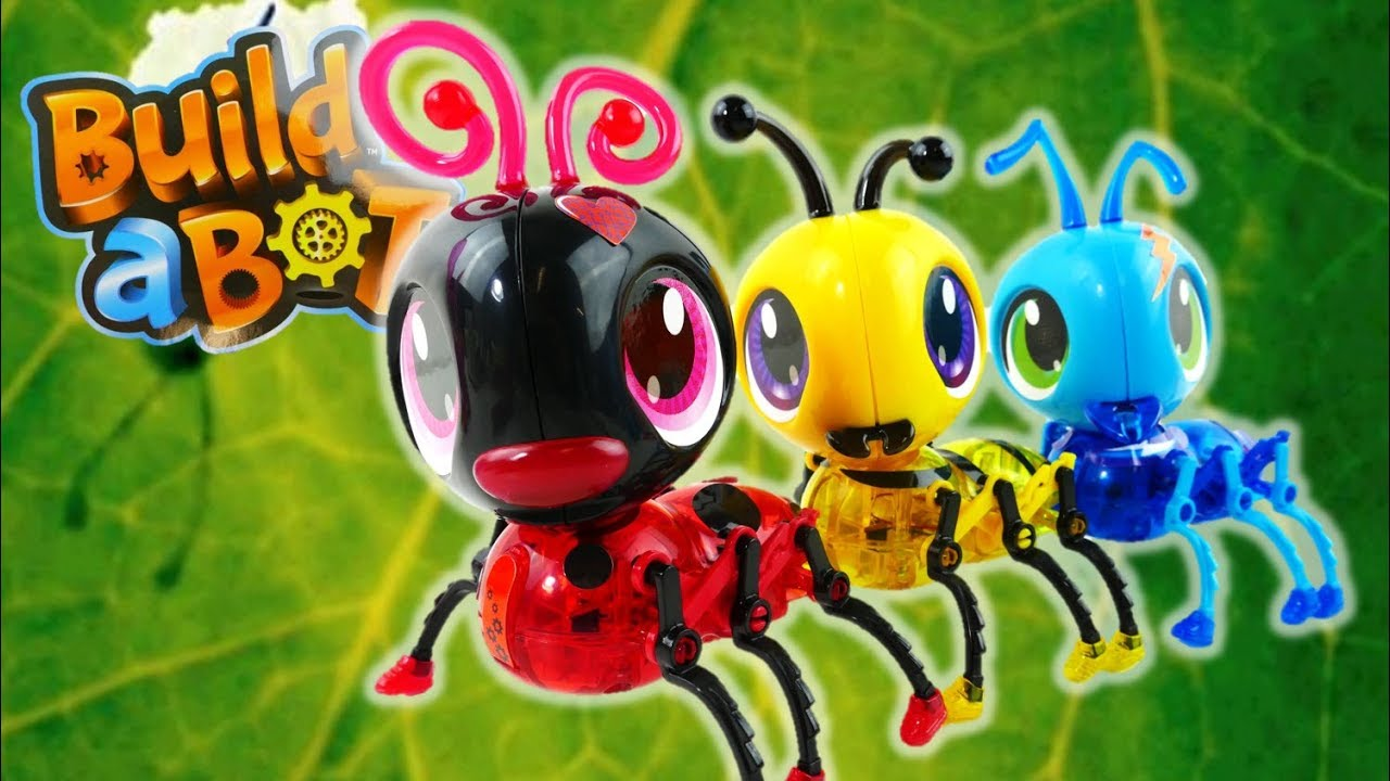 STEM toy Review - Build-a-Bot Insects - Bee Ant Ladybug