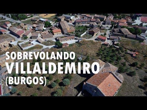 Sobrevolando Villaldemiro   Burgos