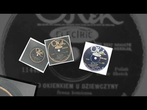 Polish 78rpm recordings, 1929. Okeh 11445. Pod Okienkiem u Dziewczyny -scena komiczna