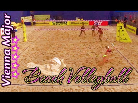 Beach Volleyball - Vienna - Horst & Doppler (AUT) Vs Sam Pedlow & Sam Schachter (CAN)