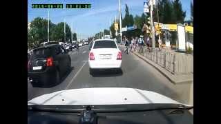 ДТП с пешеходом на водниках 26.06.2015