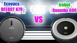 Ecovacs Deebot N79 vs Roomba 690 Robot Vacuum Comparison