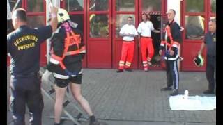 preview picture of video 'Körperliche Eignungstest bei der Feuerwehr Potsdam'