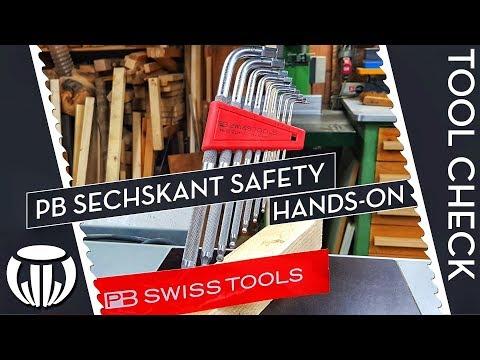 Taugt der neue Innensechskantschlüssel von PB Swiss Tools was? || Hands-on Sechskant Safety
