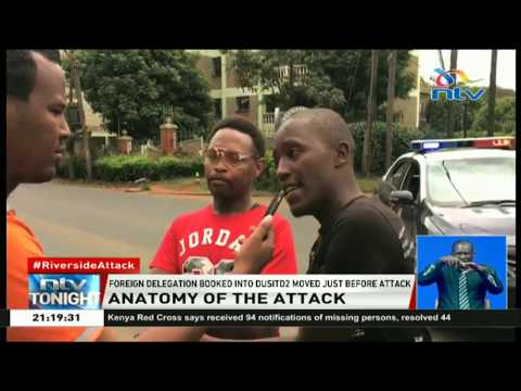 Tourist police engaged attackers at the Dusit complex entrance