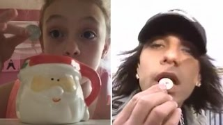 Little Girl Tries to Copy Criss Angel Magic Trick But It Goes Horribly Wrong