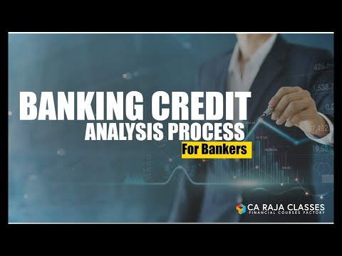 Online Course on Banking Credit Analysis Process (for Bankers ...