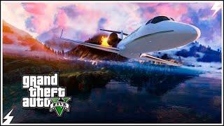 GTA V-Самый Смертельный Трюк на Самолете #11 (GTA 5 Трюки)