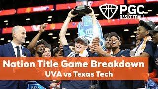 How Virginia Won The National Title!! UVA Vs Texas Tech Game Breakdown