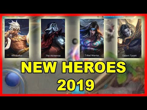 4 UPCOMING NEW HEROES 2019 - MOBILE LEGENDS