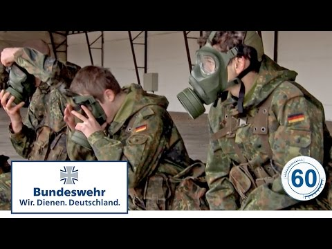 60 Sekunden Bundeswehr: ABC Schutzmaske