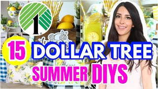 15 DOLLAR TREE DIYS TO MAKE YOUR HOME GORGEOUS FOR SUMMER 2021