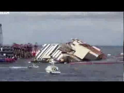 Costa Concordia, le operazioni in 30 secondi