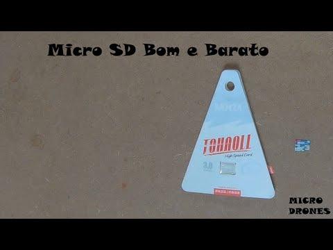 Micro SD bom e barato MIXZA TOHAOLL 16GB