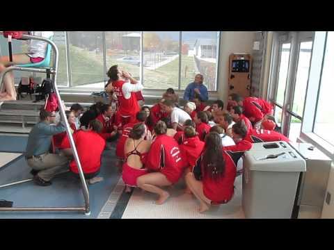 SUNY Cortland Red Dragons Cheer @ Ithaca
