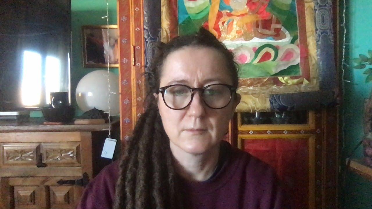Lama Gangchen Tantric Self-Healing 2- Commentary by Lama Caroline - part 61 (EN) Colours & The Garuda