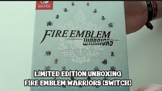 [Unboxing] Fire Emblem Warriors - Limited Edition (Europe)