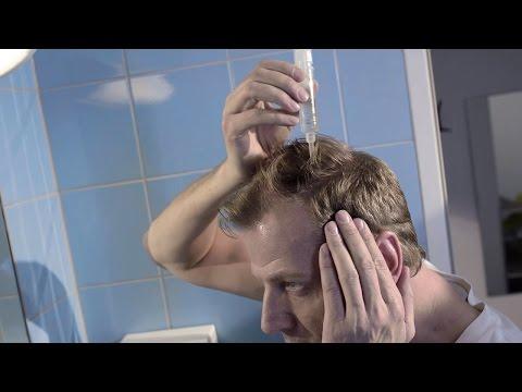 Die Masken volkseigen für das Haar damit sie nicht puschilis