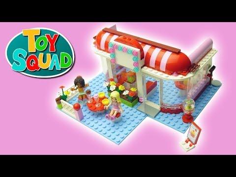 Vidéo LEGO Friends 3061 : Le café