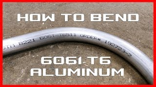 How to bend 6061 -t6511 Aluminum RMW Vlog - 134