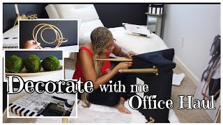 Office Decorate with Me | Office Decor Haul