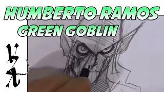 Humberto Ramos Drawing Green Goblin