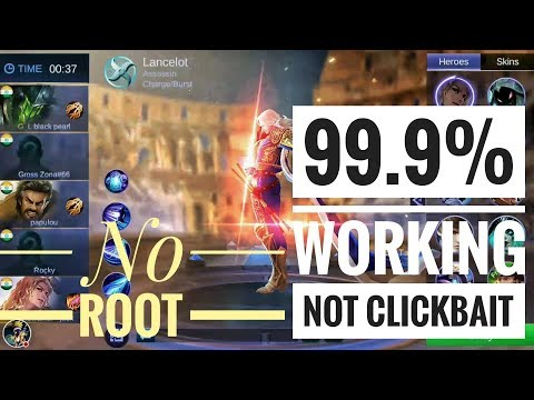 How to Hack Any Epic, Legend, starlight skin in Mobile Legend Android   Easiest method for Noob  