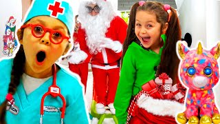 Kids Video With Santa Claus Dans Five Little Monkeys Nursery Rhymes By Chiki-Piki