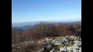Crestele Muntilor Banatului de pe Svinecea Mare - Muntii Almaj