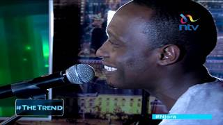 Webi performs 'pesa' on #theTrend