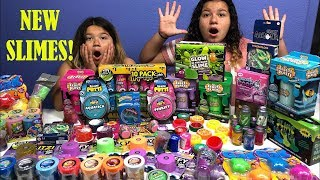 MIXING ALL OUR STORE BOUGHT SLIMES 3 - GIANT SLIME SMOOTHIE