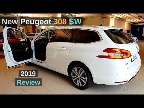 New Peugeot 308 SW Estate 2019 Review Interior Exterior