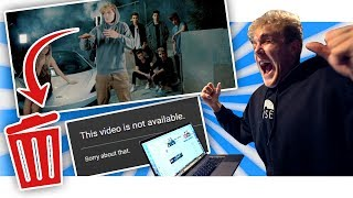 "I DELETED ""The Fall Of Jake Paul"" OFF LOGANS CHANNEL!!"