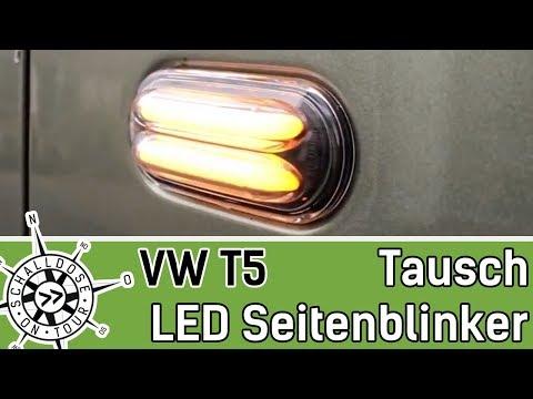 VW T5 Seitenblinker wechseln || SCHALLDOSE ON TOUR