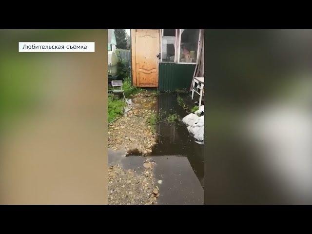 Садоводство «Радуга» затопили грунтовые воды
