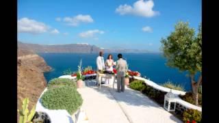 Santorini Wedding Valerie & Chris - Andronis Luxury Suites