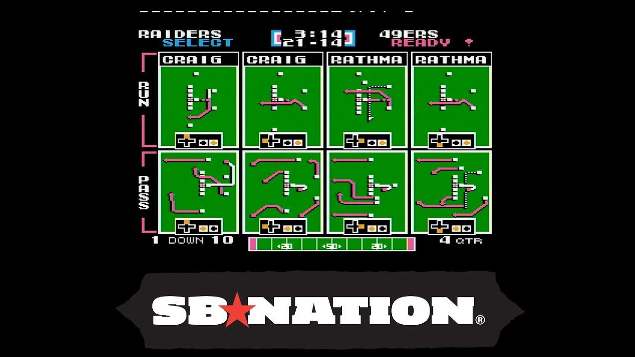 Tecmo Super Bowl: Bo Jackson vs. Joe Montana thumbnail
