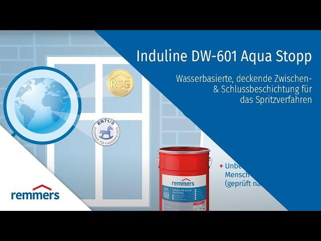 INDULINE DW-601 Aqua Stopp - krycie nátery