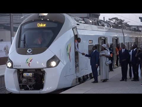 Senegal Gets New Trains Ahead Of Presidential Election
