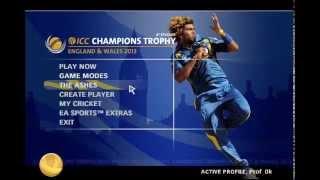 EA SPORTS CRICKET 2015 INDIA VS AUSTRALIA GAMEPLAY PC