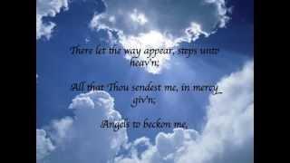Nearer My God To Thee (with lyrics)