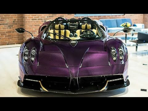 El Pagani Huayra Roadster chocado