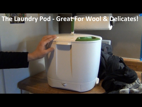 The Laundry Pod Review & Wash Demonstration!  Great For Wool / Silk / Delicates!