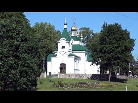 Храм во имя святого благоверного князя Александра Невского в Ужусаляй.  Литва православная